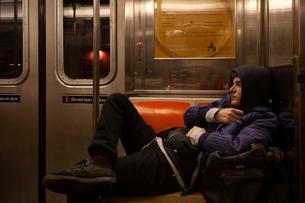 Nico on the L train, 2009