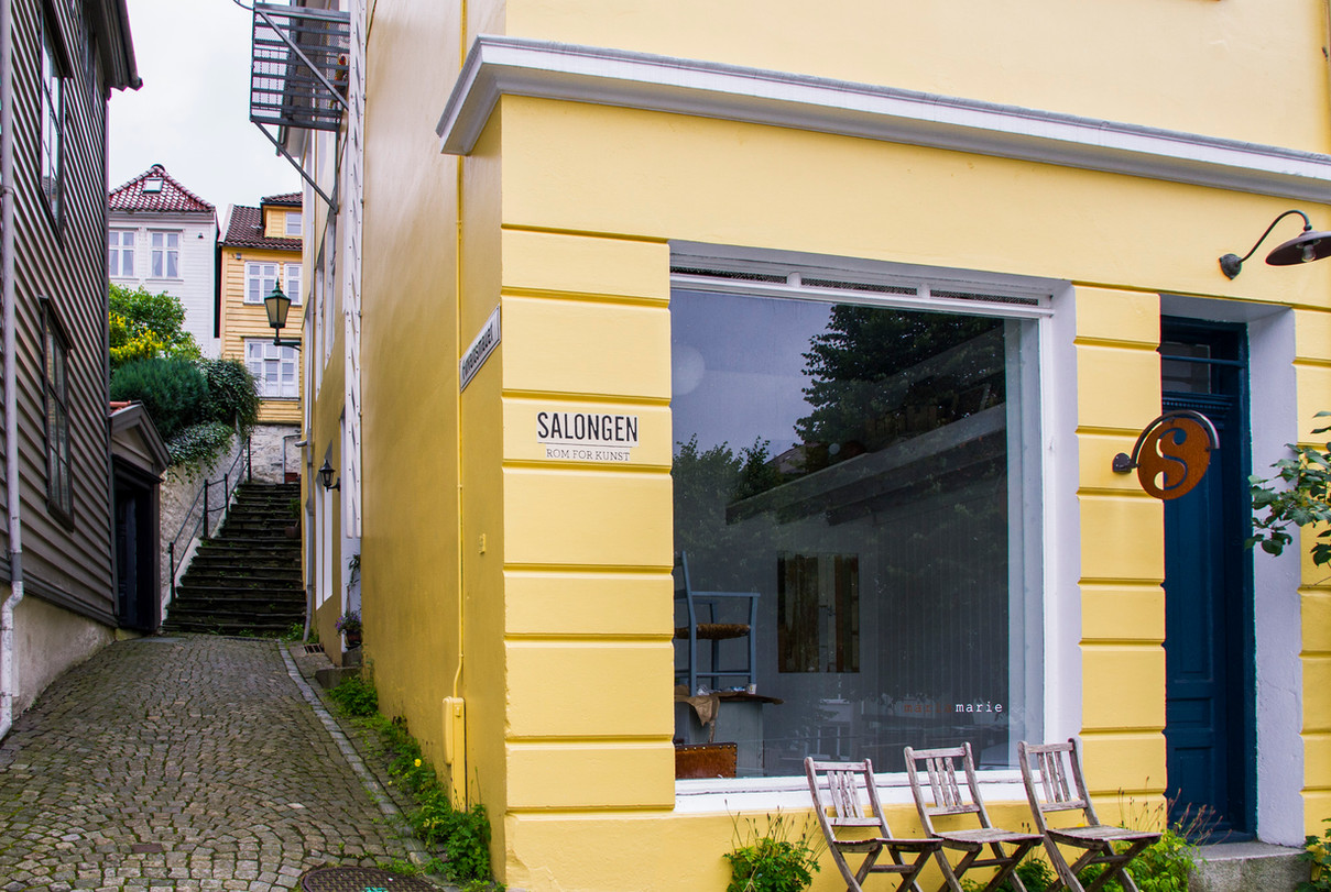 Solo show at Salongen Rom for Kunst, Bergen, Norway.