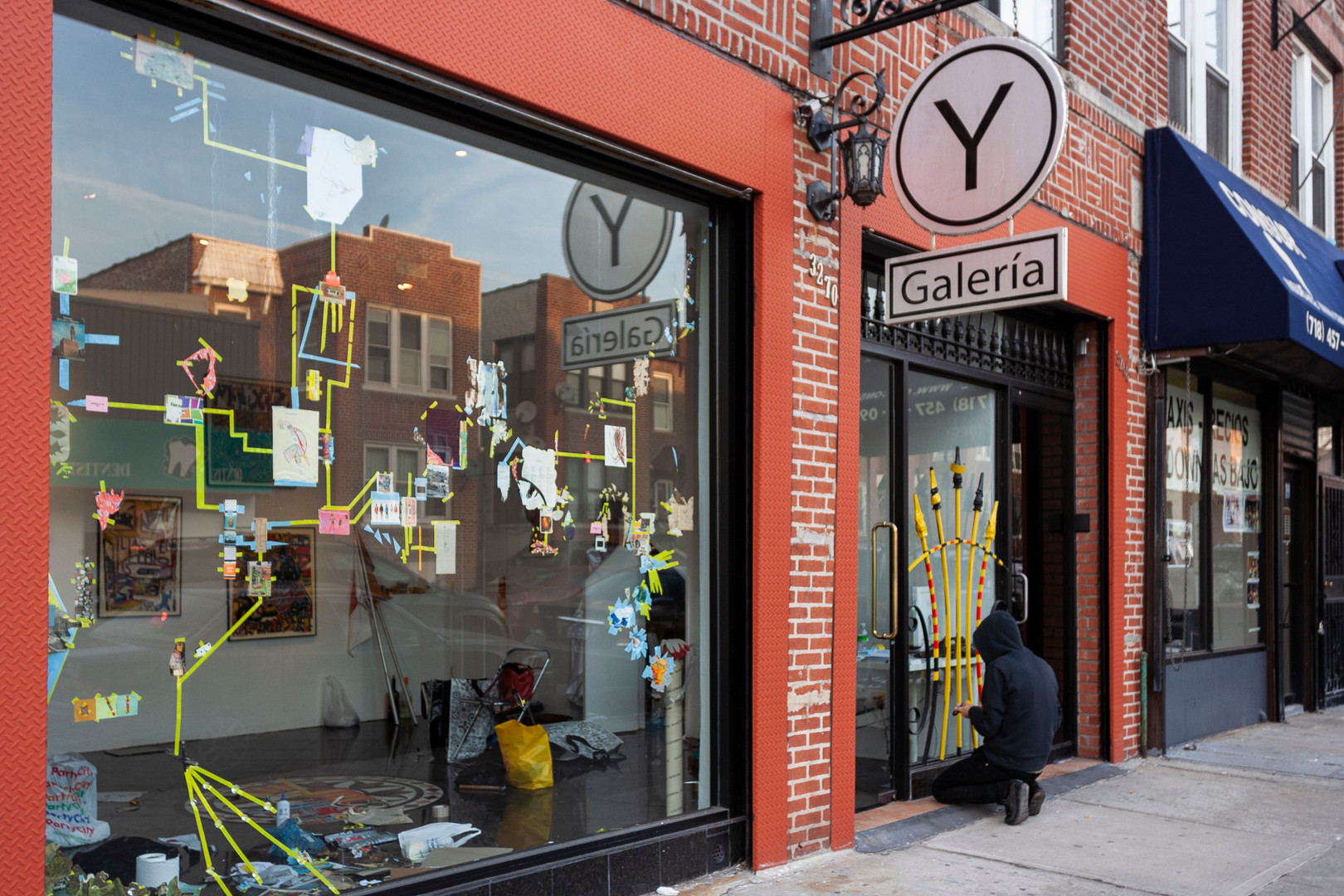 El tigre Celeste, Y Gallery, NYC, March 2009.