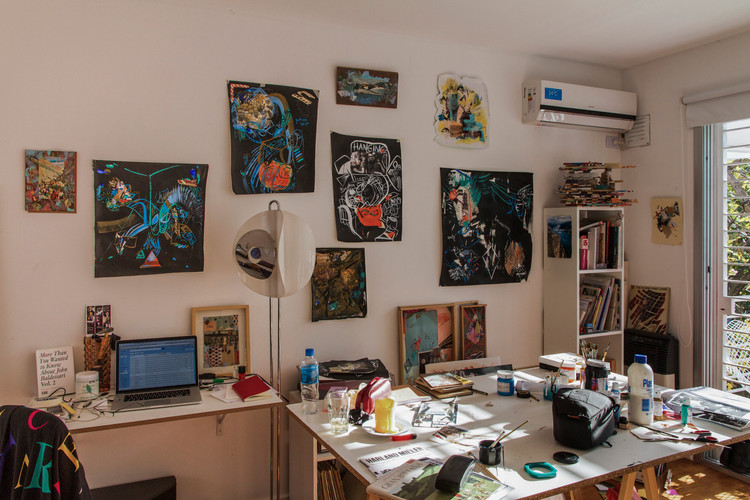 Celeste's Studio in Buenos Aires