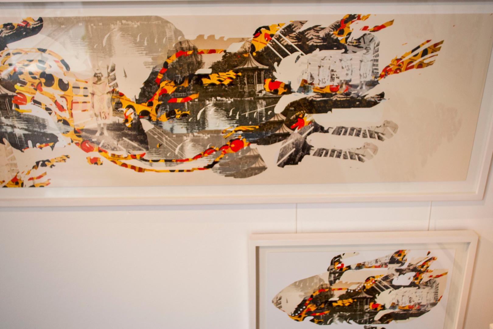 """""""Ganas"""" series at El tigre Celeste exhibition"""