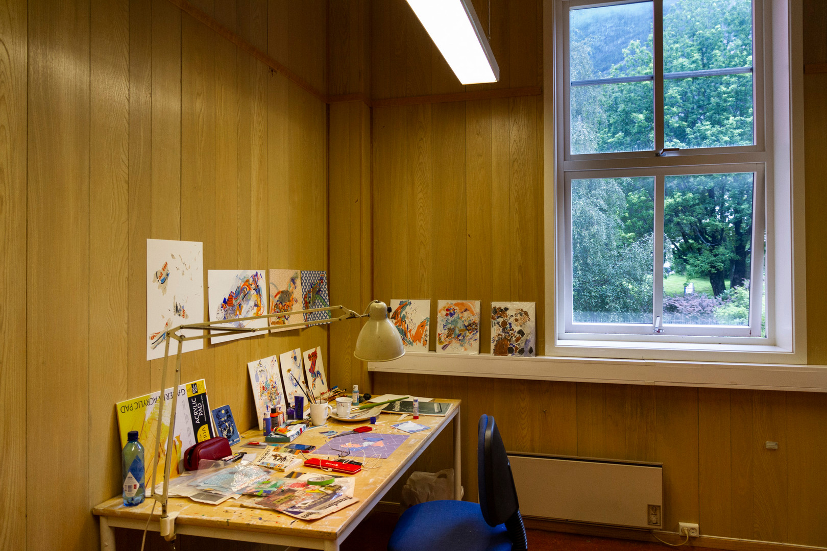 Kunstnarhuset Messen Residency – Ålvik, Norway.