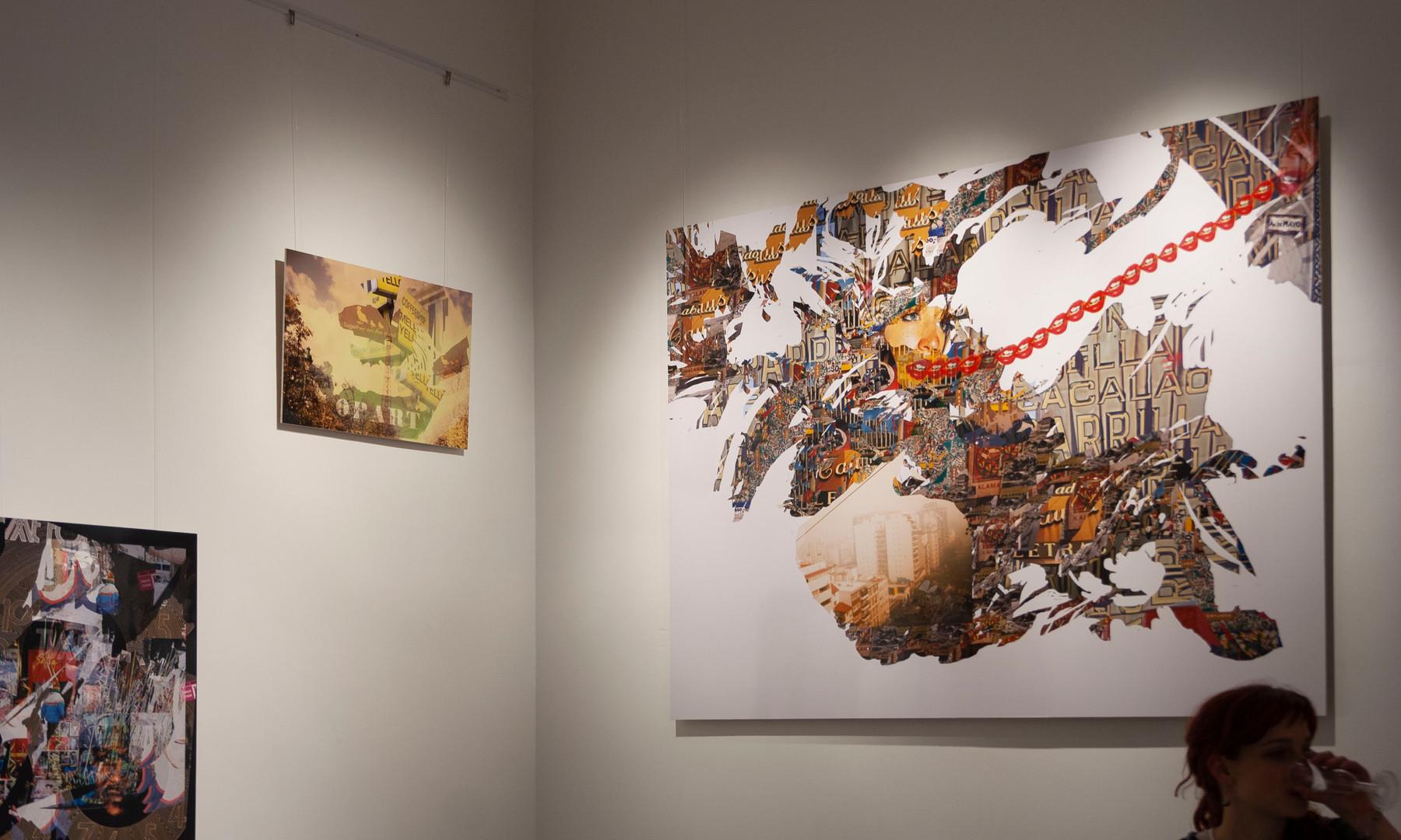 Exhibition view, Apice Arte, Buenos Aires