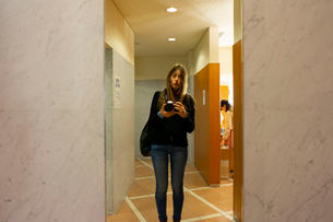 Me at the Sapporo concert hall bathroom
