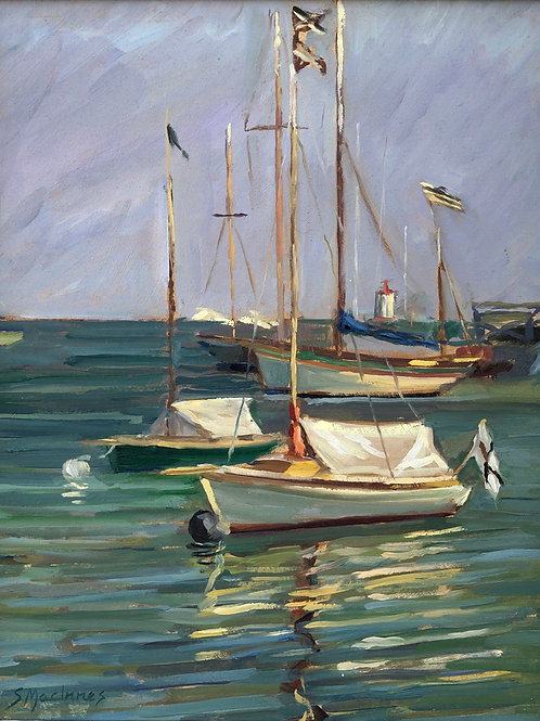 Fishing boats, Brittany