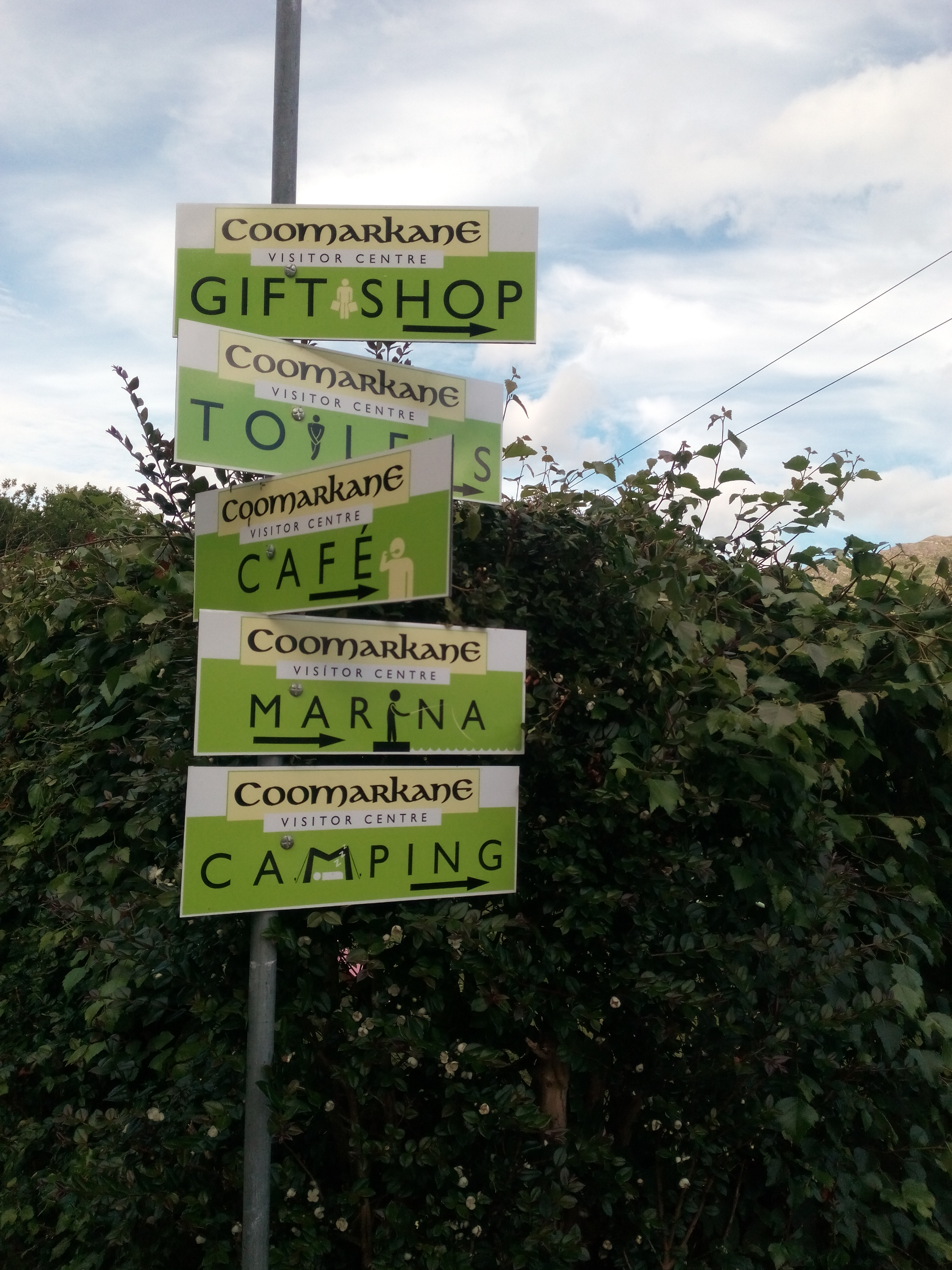 Signs at the Centre