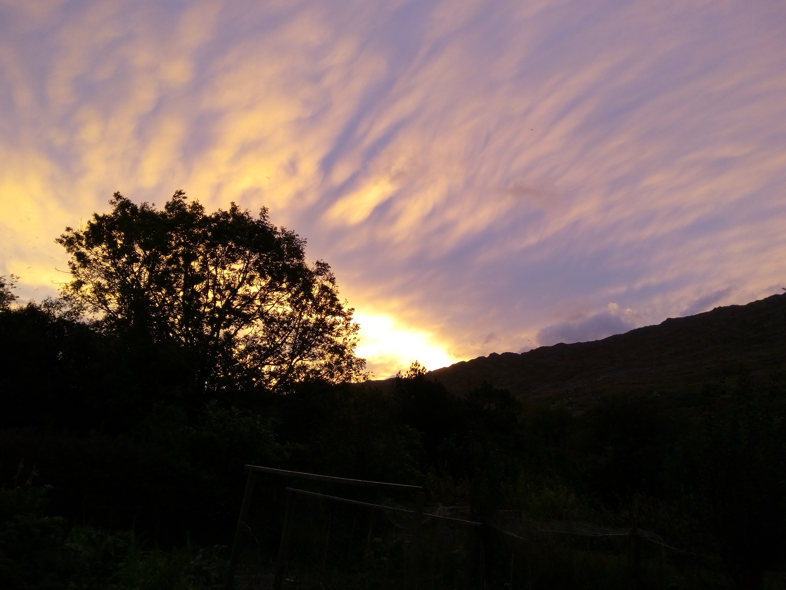 Sun Rise over Coomarkane.