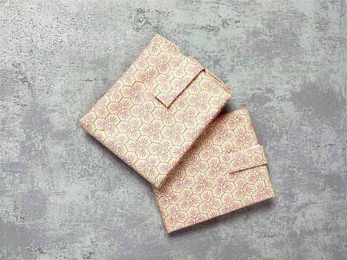 Wrap'n go : coton enduit riad rose