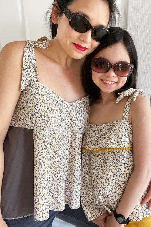 Top SUNDAY - Pack Duo mère fille - Patron de couture