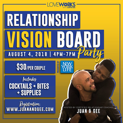 Relationship Vision Board Party