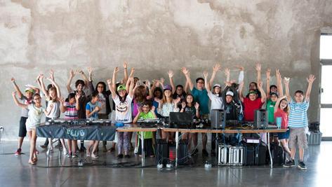 Ballroom Marfa Youth DJ Camp 2017