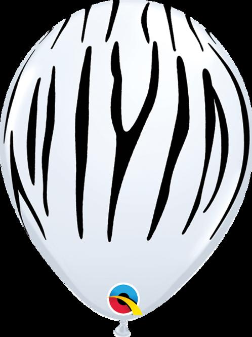 11'' Latex Zebra