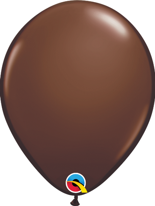 11'' Latex Chocolate Brown