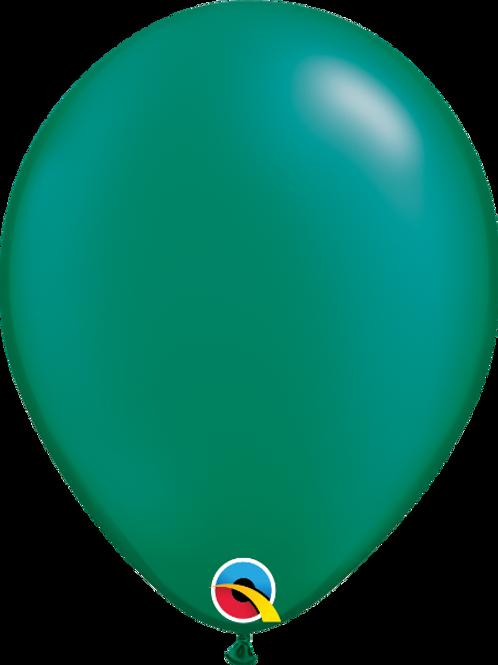 11'' Latex Pearl Emerald Green