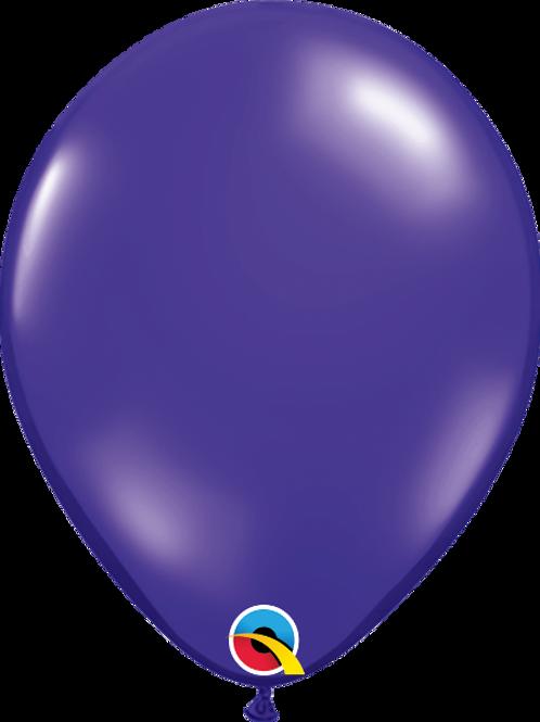 11'' Latex Quartz Purple