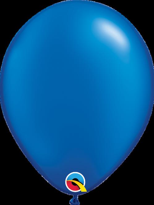 11'' Latex Pearl Quartz Sapphire Blue