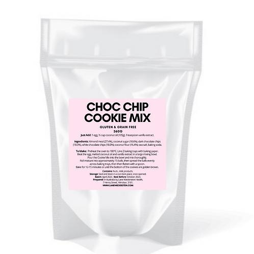 Choc Chip Cookie Mix - Gluten & Grain Free