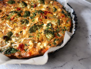 Vegetarian Red Curry Frittata