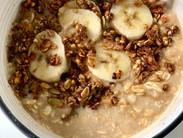 Banana Protein Porridge