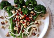 Broccolini, Fennel & Hazelnut Salad