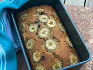 Healthy Banana and Choc Chip Bread