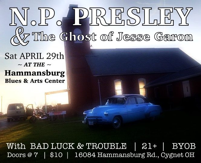 4/29/17 @ Hammansburg Blues & Arts Center
