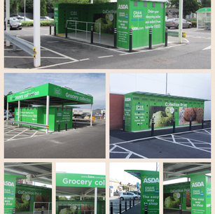 ASDA 'Click & Collect' Stations