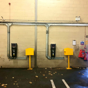 EV Chargers, York Bus Depot