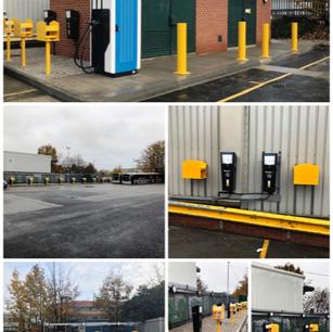EV Chargers, York Bus Depot