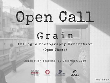 Open Call: GRAIN | Analogue Photography Exhibition at Cairo Photo Week 2021