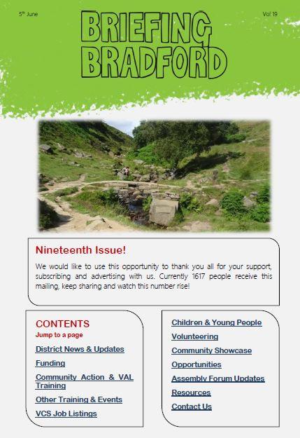 Briefing Bradford Newsletter: Issue 19
