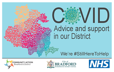 Community Action Covid advice and support in our district booklet