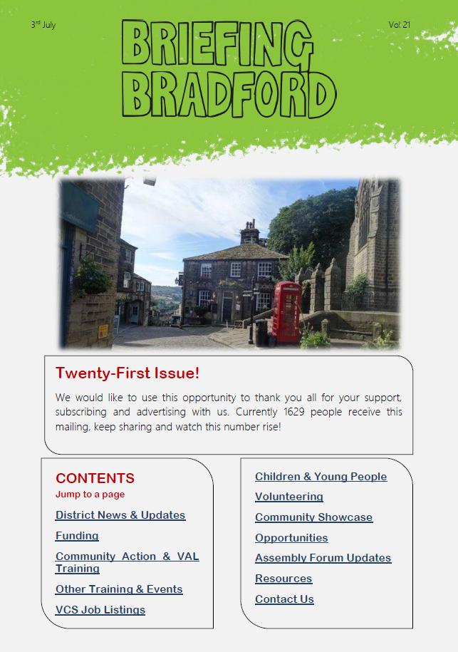 Briefing Bradford Issue 21
