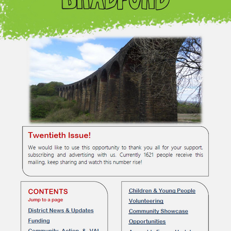 Read Issue 20 of Briefing Bradford right here