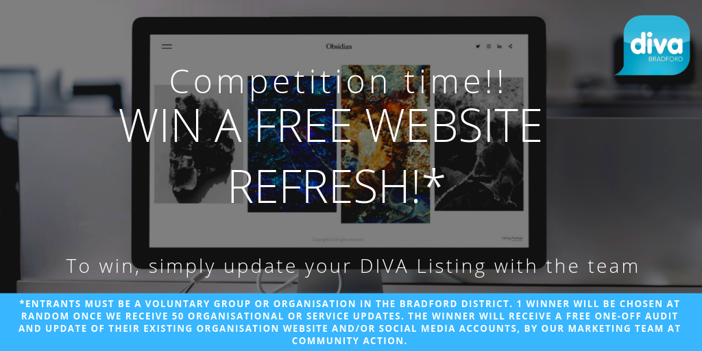 58e3c559c30bce The team at Community Action are giving you a chance to win a completely  free website refresh! All you have to do is update your voluntary  organisation s ...