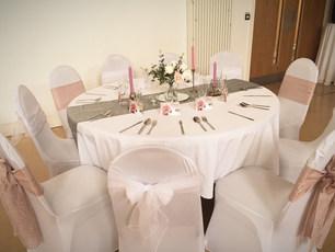 Wedding Table Decor Central Hall