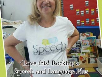 Speech and Language Plus Shirt!