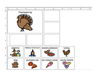 Speech and Language Plus - Thanksgiving Activity
