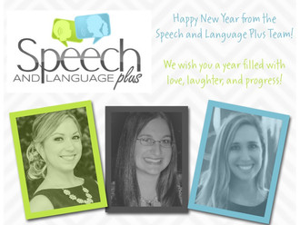 Happy New Year from Speech and Language Plus!