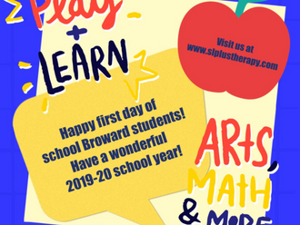 Schools Back - Speech and Language Plus