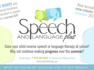 Summer Therapy - Speech and Language Plus
