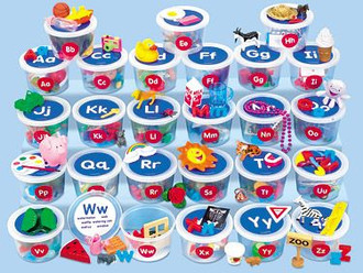 Speech and Language Plus - Letter/Sound Bins or Bags