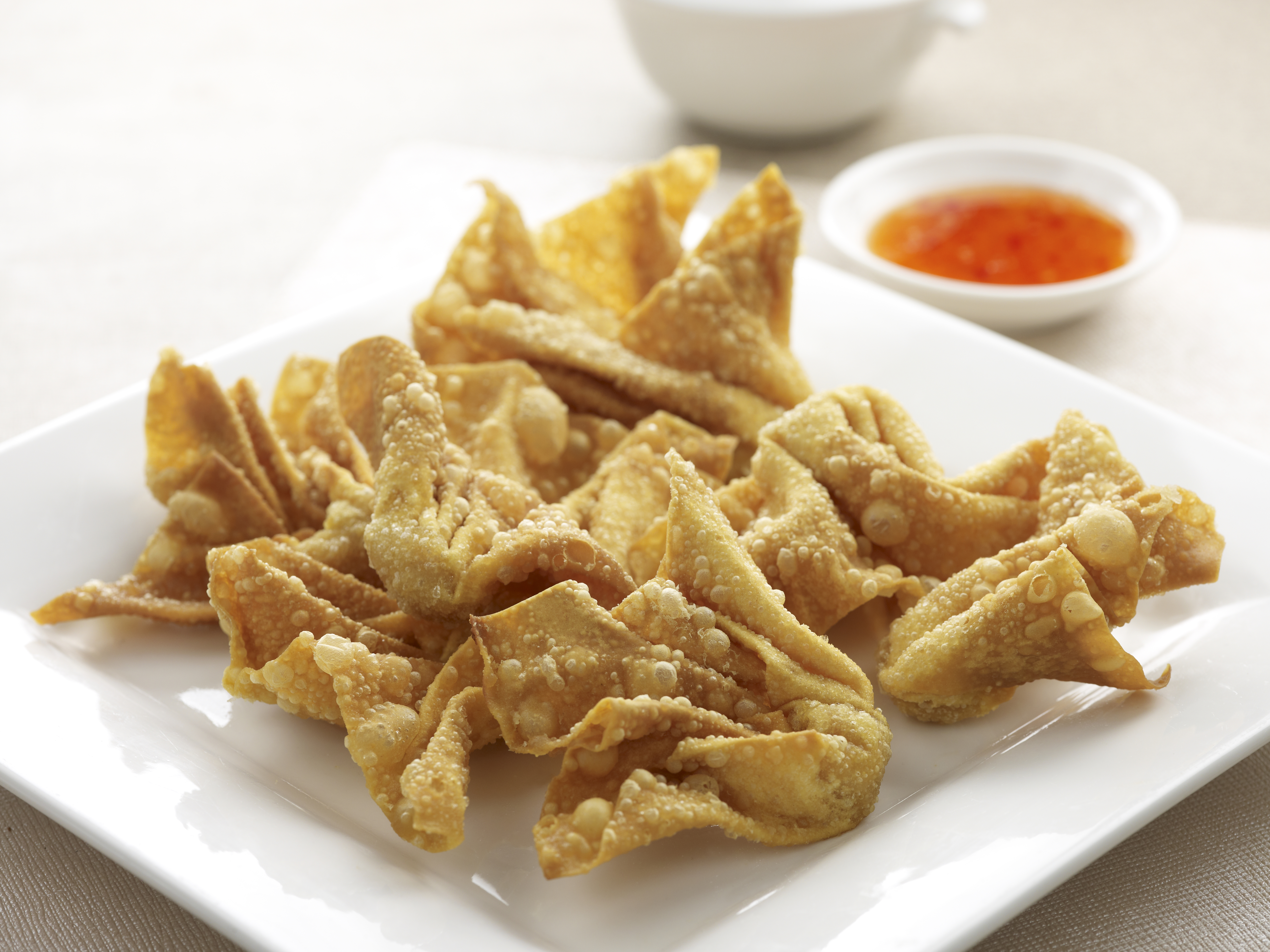 Crispy Fried Dumplings