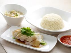 Silky Chicken Rice Set