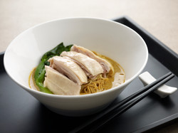 Curry Noodles with Silky Chicken