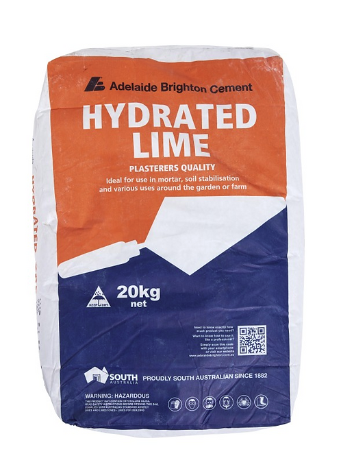 HYDRATED LIME 20KG BAG
