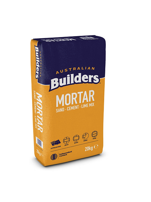 BUILDERS MORTAR 20KG BAG