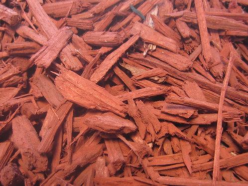 REDWOOD MULCH(coloured)PER m3