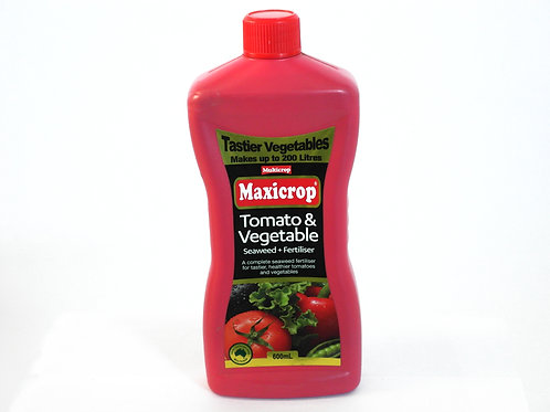MAXICROP TOMATO & VEGETABLE SEAWEED FERTILISER CONCENTRATE