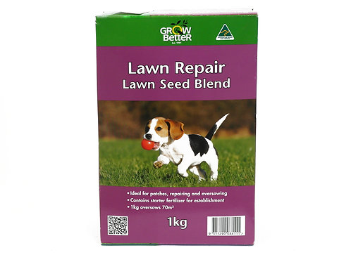 GROW BETTER LAWN REPAIR LAWN SEED